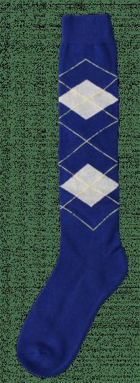 Excellent Calcetines hasta la rodilla RE d.blue / beige 43-46