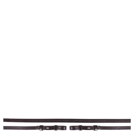 BR Riendas de barra de cuero 13 mm