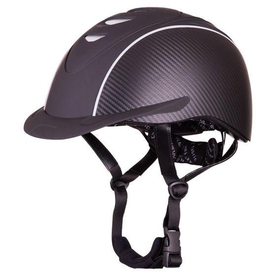 BR Casco de equitación Viper Patron Carbon VG1