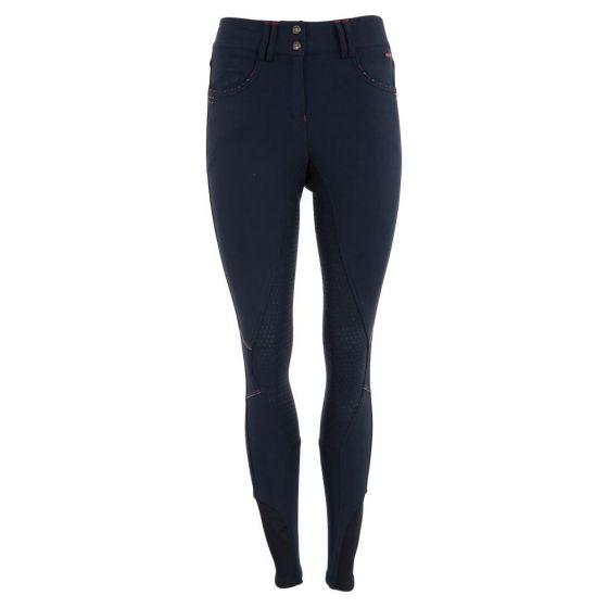 Premiere Pantalones de montar Foxglove asiento de silicona para mujer