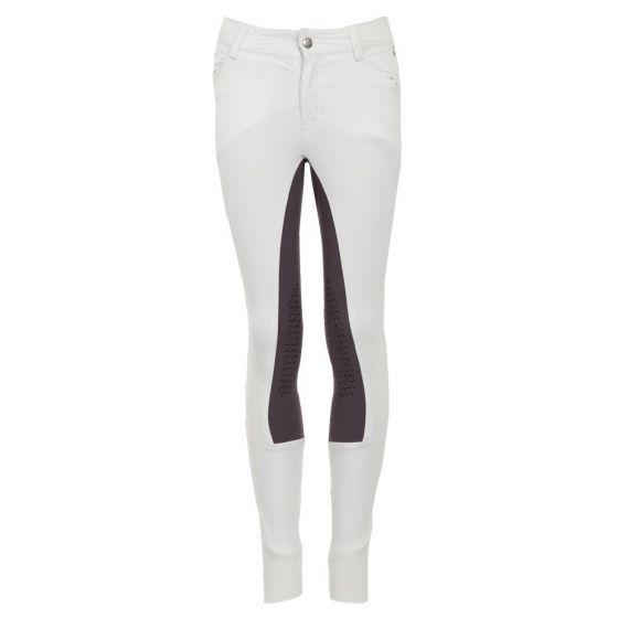 BR Pantalón de montar Navan niño silicona rodilla