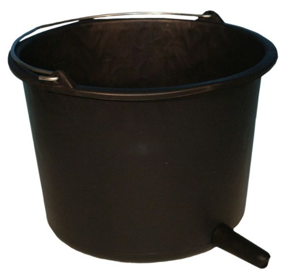 Hofman Cubo de la Pantorrilla redondo + pezón negro 80 mm