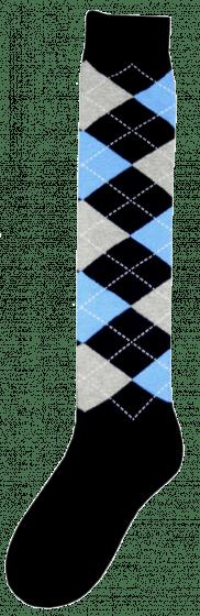 Excellent Calcetines hasta la rodilla RE d.blue / grey / blue 43-46
