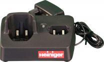 Cargador de batería para la esquiladora Saphir de Heiniger