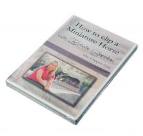 """DVD """"How to clip a Miniature Horse"""" (""""Cómo esquilar a un caballo miniatura"""")"""