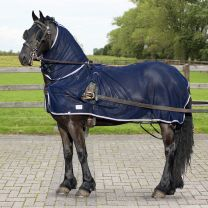 QHP Manta Harness fly rug + neck piece