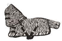 Manta Fly Zebra de Harrys Horse
