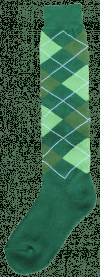 Excellent Calcetines hasta la rodilla RE d.green / l.green / green 43-46