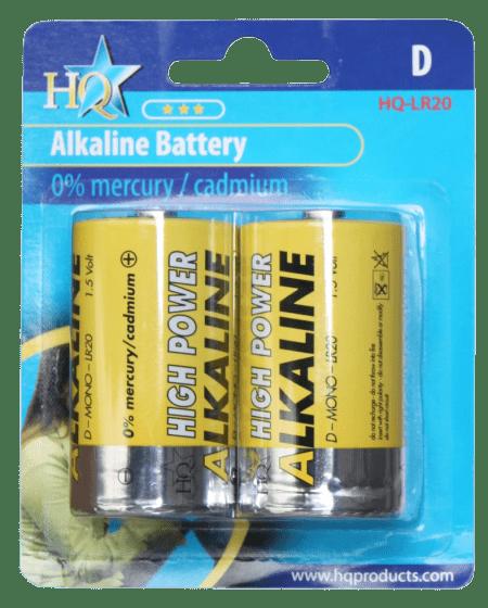 Hofman Tamaño de la pila D alcalina 1,5 V