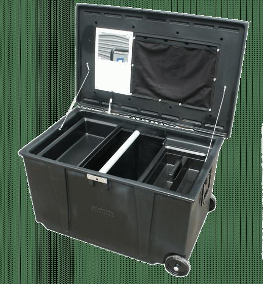 Hofman Caja de almacenamiento móvil Sportote Prof