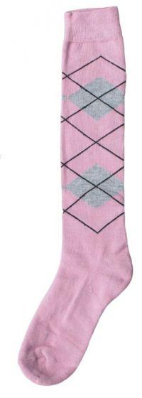 Hofman Calcetines Hasta la Rodilla RE 39/42 Pink/Silver