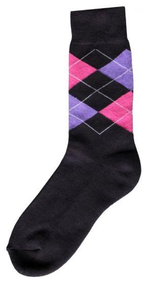 Hofman Calcetines de Jinete Grey/Purple 39/42