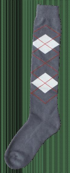 Excellent Calcetines hasta la rodilla RE gris / beige 43-46