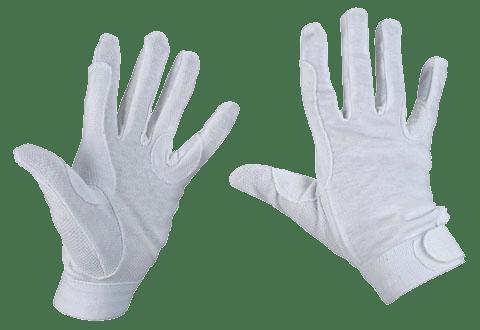 Hofman Guante de montar de algodón