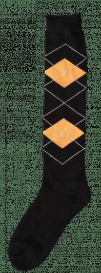 Excellent Calcetines hasta la rodilla RE d.brown / orange 43-46
