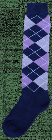 Excellent Calcetines hasta la rodilla RE d.blue / lilac / grey 43-46