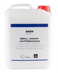 PFIFF Spray de brillo de pelo, cola y melena Basicline