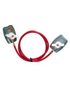 PFIFF Cable de conexión de alimentación, galvanizado