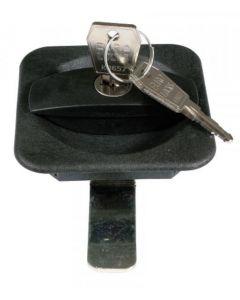 PFIFF Cojín de silla de montar de piel de oveja de plástico Bridoon Stable Lock