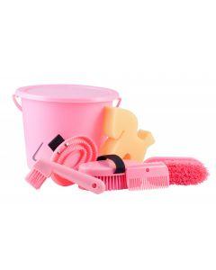 PFIFF Juego de limpieza en un balde con cerradura