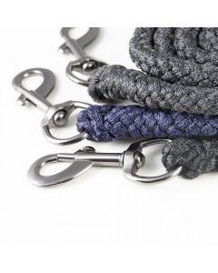 PFIFF Cuerda de cabestro con clip de mosquetón