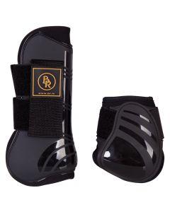 BR Conjunto BR de botas de tendón y botas Flock Pro Tech