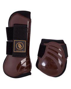 BR Juego de correas de bota de montar tendón y correas de bota de montar fetlock Pro Tech