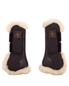 BR Correas para las la horma para las la horma para botas de montar tendinosas BR Snuggle imitación piel de oveja