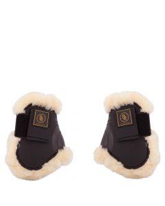 BR Correas para las la horma para las la horma para botas de montar Fetlock Snuggle imitación de piel de oveja