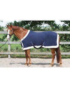 Harry's Horse Alfombra de felpa modelo state con solapa en el pecho
