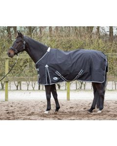 Manta de Harry's Horse Thor 0 gramos con revestimiento polar negro