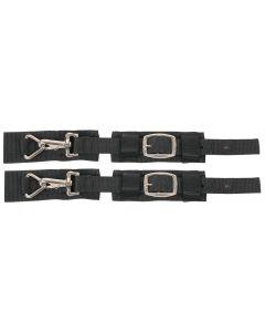 Harry's Horse Set dobles sujetadores rápidos para la el cinchuelo (elástico) de invierno