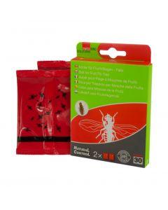 Hofman Atrayente de la trampa de la mosca de la fruta de floja (paquete de 2)