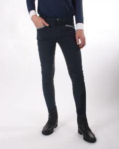 QHP Pantalón de montar Olav Junior leg grip