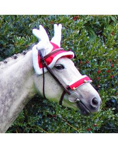 QHP Gorro de reno para caballos