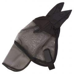 Máscara de montar a caballo imperial con orejas y solapa de nariz.