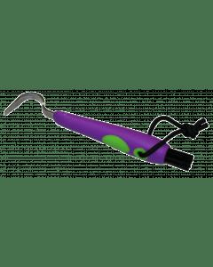 Hofman Divertido pezuña + cepillo morado / verde