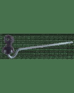 Cable aislante & quot; ideal & quot; mango 22 cm Zwart
