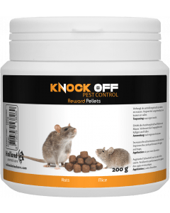Knock Off Reward Pellets para ratones y ratas