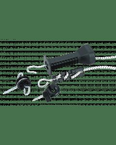 Impuls Tirador de puerta Conjunto de cremallera elástica
