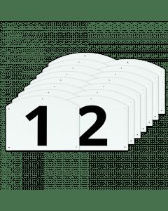 Vplast Mostrar números y letras de Jump completo