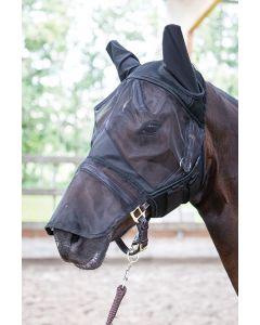 Harry's Horse Máscara de mosca Flyshield con pieza de nariz