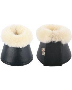 Harry's Horse Correas para botas de montar campana neopreno / merino negro