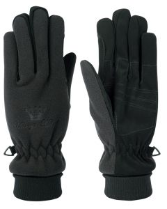 Harry's Horse Gloves polar transpirable / impermeable negro