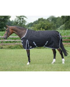 QHP Turnout 600 Fleece Blanket Black 145