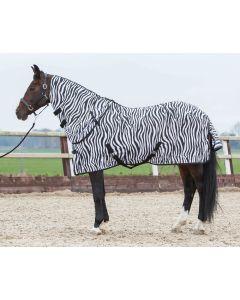 Harry's Horse Alfombra Fly con cuello de cebra desmontable