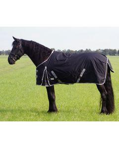 QHP Manta con cuello grande 0gr Negro 185