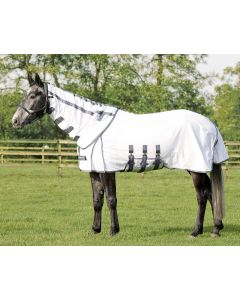 Alfombra QHP Fly Technical White