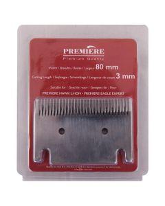 Cuchilla de corte Premiere la esquiladora de 3 mm (cuchilla de corte de 80 mm)