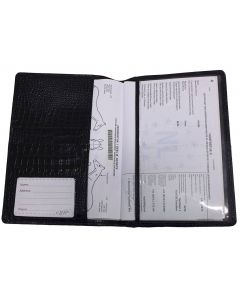 QHP Horse Passport Map Croco